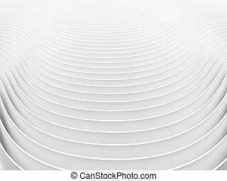 abstrakt, hintergrund, weißes, render, 3d