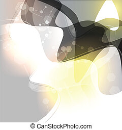 abstrakt, hintergrund, welle