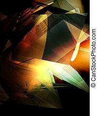 abstrakt, hintergrund