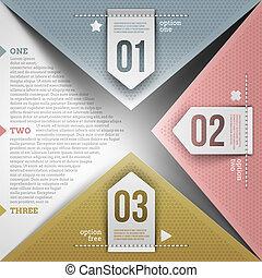 abstrakt, infographic, konstruktion