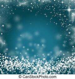 abstrakt, jul, baggrund, i, ferie, lys
