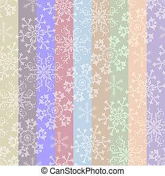 abstrakt, jul, stribet, pastel, seamless, mønster