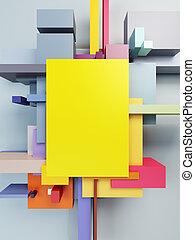 abstrakt konst, komposition