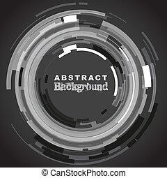 abstrakt, kreis, hintergrund