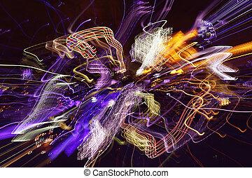 abstrakt, lichter