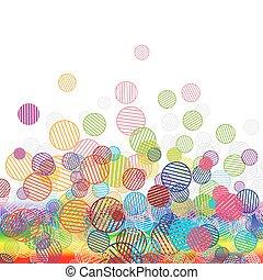 abstrakt, lustiges, hintergrund, für, dein, design