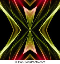 abstrakt, mäktig, bakgrund, objekt