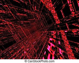 abstrakt, matrix