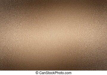 abstrakt, metallwand, beschaffenheit, hintergrund, gebürstet, bronze