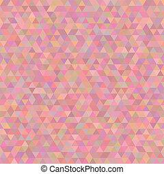 abstrakt, modern, pattern., dreieckig, geometrisch,...