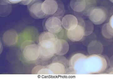 abstrakt, natürlich, grün, bokeh, fokus