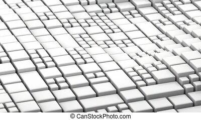 abstrakt, oberfläche, welle, 3d lebhaftigkeit, 4k