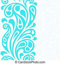 abstrakt, pattern., seamless, wasser, spritzen, wellen
