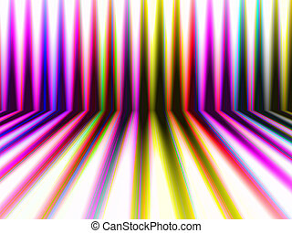 abstrakt, perspektiv, färgrik, stripes, bakgrund