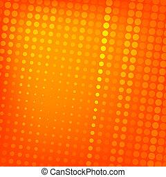 abstrakt, punktiert, orange hintergrund