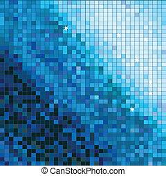 abstrakt, quadrat, mosaik, hintergrund