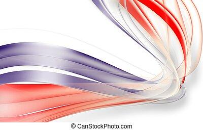 abstrakt, rød, og blå, baggrund