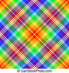 abstrakt, regenbogen, diagonal, seamless, muster