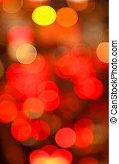 abstrakt, regenbogen, lichter
