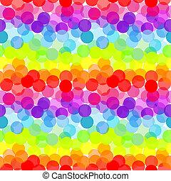 abstrakt, regenbogen, seamless, muster