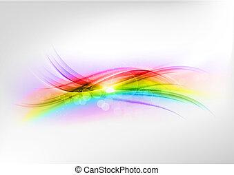 abstrakt, regenbogen