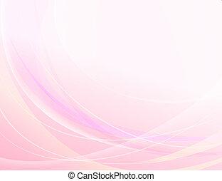 abstrakt, rosa, vektor, bakgrund