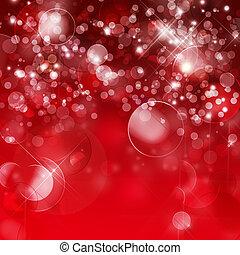 abstrakt, rotes , bokeh, hintergrund
