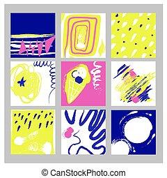 abstrakt, satz, hintergruende, abbildung