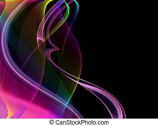 abstrakt, schablone