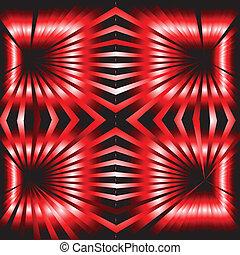 abstrakt, schwarz rot, hintergrund