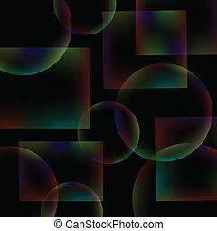 abstrakt, schwarzer hintergrund