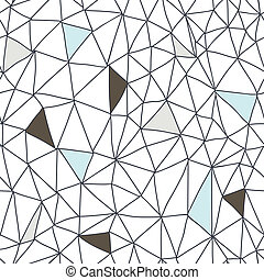 abstrakt, seamless, klotter, mönster