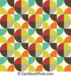 abstrakt, seamless, mønster