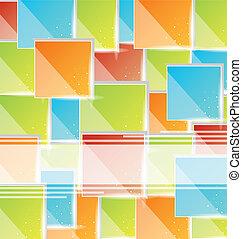 abstrakt, skapande, avskrift, bakgrund, utrymme