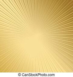 abstrakt, sonnig, gold, hintergrund