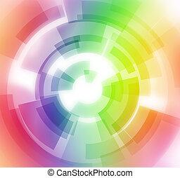 abstrakt, spectral, baggrund