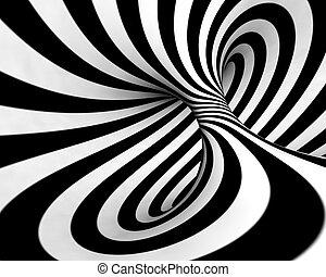 abstrakt, spirale, hintergrund