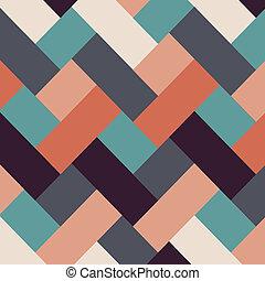 abstrakt, stil, retro, bakgrund, stripes