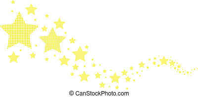 abstrakt, stjärnor