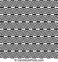 abstrakt, svart & white, mönster, 1
