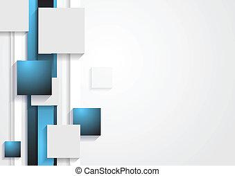 abstrakt, technologie, vektor, begriff, hintergrund