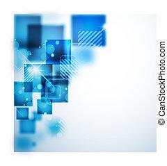 abstrakt, teknologi, baggrund