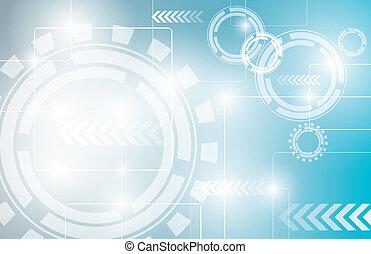 abstrakt, teknologi, desi, bakgrund