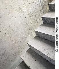 abstrakt, trappa