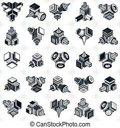 einfache formen geometrisch satz satz einfache vektoren illustration suche clipart. Black Bedroom Furniture Sets. Home Design Ideas