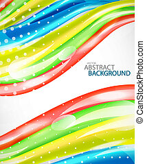 abstrakt, vektor, bunte, hintergrund