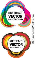 abstrakt, vektor, bunter , hintergrund