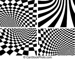 abstrakt, vektor, hintergruende