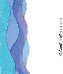 Abstrakt, vektor, hintergrund