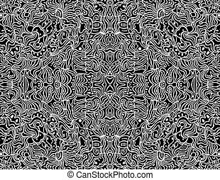 abstrakt, vektor, konstruktion, seamless, baggrund